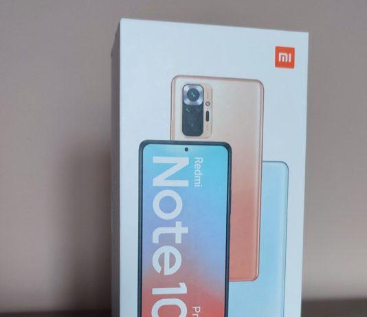 XIaomi Redmi Note 10 Pro pudełko
